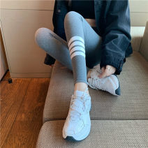 Leggings Spring 2021 Light grey, dark grey, black Average size Capris / Capris 18-24 years old
