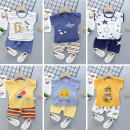 suit Small return to beauty 80cm,90cm,100cm,110cm,120cm neutral summer Korean version other Thin money No model other Pure cotton (100% cotton content) LX0311 Class A 3 months, 6 months, 12 months, 2 years, 18 months, 9 months, 3 years, 4 years, 5 years, 6 years Chinese Mainland