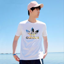 T-shirt Youth fashion routine S,M,L,XL,2XL Seasonal clover Short sleeve Crew neck standard Other leisure summer youth routine Youthful vigor 2021 cotton More than 95%