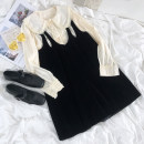 Dress Summer 2021 Average size Middle-skirt Two piece set Short sleeve Decor Socket Others 18-24 years old More than 95% other polyester fiber