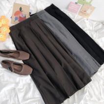 skirt Spring 2021 Average size Brown, grey, black 18-24 years old