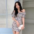 Dress Summer 2021 Decor S,M,L,XL Short skirt singleton  commute High waist Decor zipper Pencil skirt routine Type X Korean version