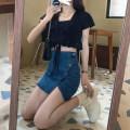 skirt Summer 2021 S,M,L 33058 dark blue Short skirt commute High waist other Solid color Type A 71% (inclusive) - 80% (inclusive) other other 401g / m ^ 2 (inclusive) - 500g / m ^ 2 (inclusive)