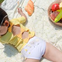 Children's swimsuit / pants MANDYLU STORY M (80-90cm), l (90-100cm), XL (100-110cm), 2XL (110-120cm), 3XL (120-130cm) H313 yellow daisy swimsuit Children's split swimsuit female polyester fiber
