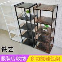 Clothing display rack Bronze five layer shelf, black five layer shelf, white five layer shelf clothing Metal Official standard