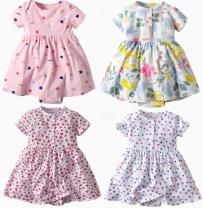 Dress Q500,Q502,Q503,Q507,Q511,Q514,Q509,Q520,Q522,Q523,Q524,Q525,Q527,Q528,Q529,Q530,Q531,Q532,Q533,Q534,Q535,Q504,Q516,Q517 female Other / other 6m / 59cm for 5-7kg, 9m / 66cm for 8-11kg, 12m / 73cm for 12-14kg, 18m / 80cm for 15-17kg, 24m / 85CM for 18-22kg Cotton 100% summer Korean version cotton