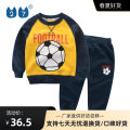 suit 27KIDS 90cm,100cm,110cm,120cm,130cm,140cm neutral spring and autumn motion Long sleeve + pants 2 pieces routine No model Socket nothing Cartoon animation cotton children Learning reward T3608 Class A Cotton 100%