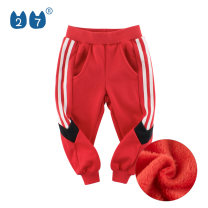 trousers 27KIDS neutral 90cm,100cm,110cm,120cm,130cm,140cm 7612 black, 7612 rust red spring and autumn trousers No model Casual pants Leather belt middle-waisted Cotton blended fabric Don't open the crotch Polyester 62.8% cotton 37.2% Class A