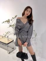 Dress Winter 2020 Black, brown, gray and after payment Average size