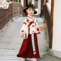 Tang costume claret 100,110,120,130,140,150 Other 100% female spring and autumn There are models in the real shooting Thin money Other / other other other Broken flowers Three, four, five, six, seven, eight, nine, ten, eleven, twelve Chinese Mainland Zhejiang Province