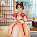 Hanfu nation 7, 8, 3, 6, 11, 5, 4, 10, 9, 12 other Chinese style female Red, blue 21CK026HS Tagkita / she and others 100,110,120,130,140,150