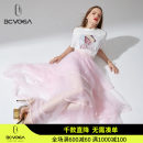 skirt Spring 2021 34/S 36/M 38/L 40/XL pink Middle-skirt commute High waist skirt other Type A 25-29 years old B2002LC114 More than 95% other bcvoga nylon Britain Polyamide fiber (nylon) 100.00%