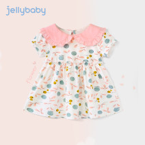 Dress female jellybaby 73cm 80cm 90cm 100cm 110cm 120cm 130cm Cotton 100% summer leisure time Skirt / vest other Pure cotton (100% cotton content) A-line skirt JQ923-JL56V-2 other Spring 2021 12 months, 6 months, 9 months, 18 months, 2 years, 3 years, 4 years, 5 years, 6 years