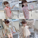 cheongsam 90,100,110,120,130 Peacock, pink lattice, black lattice, pink strawberry, beige cheongsam Other 100% There are models in the real shooting summer 18 months, 2 years old, 3 years old, 4 years old, 5 years old, 6 years old, 7 years old, 8 years old, 9 years old, 10 years old, 11 years old