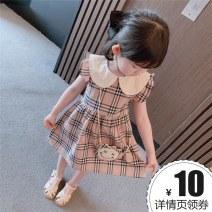 Dress Graph color female Other / other 90cm,100cm,110cm,120cm,130cm Other 100% summer princess lattice cotton Pleats 7 years old, 8 years old, 12 months old, 3 years old, 6 years old, 18 months old, 9 months old, 6 months old, 2 years old, 5 years old, 4 years old Chinese Mainland