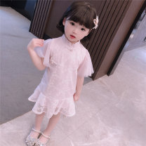 cheongsam 90,100,110,120,130 Light blue, pink Other 100% There are models in the real shooting summer Solid color 7 years old, 8 years old, 12 months old, 3 years old, 6 years old, 18 months old, 9 months old, 6 months old, 2 years old, 5 years old, 4 years old Chinese Mainland