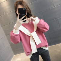 Sweater / sweater Autumn of 2019 Skin red beibai yellow blue green dark gray S M L XL Long sleeves routine Socket singleton  routine Crew neck easy commute routine 96% and above You've got to go Korean version other A02203 Other 100% Pure e-commerce (online only)