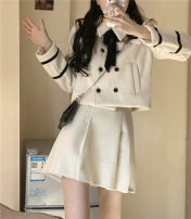 Fashion suit Winter 2020 Average size, s, M Top, skirt 18-25 years old 31% (inclusive) - 50% (inclusive) cotton