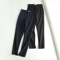 Casual pants Black, Navy 34,36,38,40,42 Spring 2020 trousers High waist routine