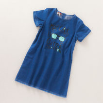 Dress Denim 8706 k1-4 female Other / other 110cm,130cm,140cm,150cm,160cm Other 100% summer cotton A-line skirt M0330-42 Five, six, seven, eight, nine, ten, eleven, twelve