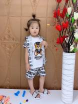 Children's skin clothes / sunscreen clothes milky white 100,110,120,130,140,150 Other / other pure cotton Cotton 100%