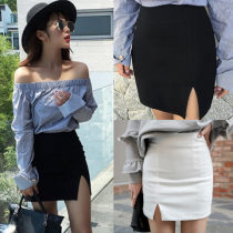 skirt Summer 2017 XS (upgrade quality version) s (upgrade quality version) m (upgrade quality version) l (upgrade quality version) Invisible black zipper Short skirt Versatile High waist skirt Solid color 51% (inclusive) - 70% (inclusive) other other zipper