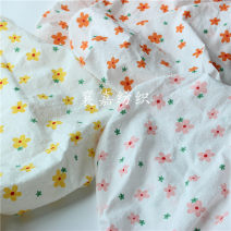Fabric / fabric / handmade DIY fabric cotton Loose shear piece Plants and flowers jacquard weave clothing Countryside 100% Zhejiang Province Shaoxing Chinese Mainland