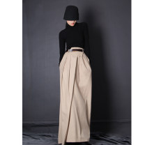 skirt Spring 2021 S. M, l, XL, s [3-5 days], m [3-5 days], l [3-5 days], XL [3-5 days] Apricot Mid length dress Versatile High waist Irregular Solid color Type A 18-24 years old D112723 51% (inclusive) - 70% (inclusive) other D. M / Chen Damei polyester fiber Asymmetry, splicing