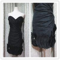 Dress / evening wear Wedding adult party company annual meeting performance XS M L XL black Poplin