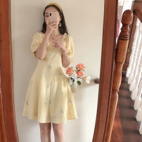 Dress Summer 2021 S M L XL 2XL 3XL Short skirt 18-24 years old More than 95% other Other 100% Pure e-commerce (online only)