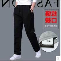 Casual pants Others other Light gray straight mouth, dark blue straight mouth, dark gray straight mouth, black straight mouth, black white straight mouth, light gray black straight mouth routine trousers motion easy get shot 948CBA060 autumn Large size Basic public 2016 Medium high waist Sports pants