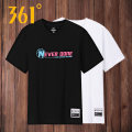 Sports T-shirt 361° Short sleeve male Crew neck routine Moisture absorption and perspiration, quick drying, ultra light, breathable and super elastic Spring 2020 Men's running Cotton polyester yes