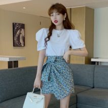 Fashion suit Spring 2021 Average size T-shirt, skirt 18-25 years old Other / other W0401 30% and below