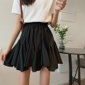 skirt Spring 2021 Average size White, black Short skirt commute High waist Pleated skirt Type A 18-24 years old 0402L 30% and below other Other / other Korean version