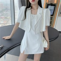 Fashion suit Spring 2021 S, M Black suit, white suit, white dress, black dress 18-25 years old Other / other 0329Y 31% (inclusive) - 50% (inclusive)