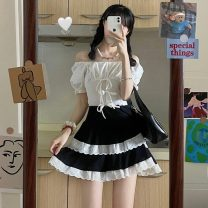 Fashion suit Summer 2021 Average size Shirt, skirt 18-25 years old Other / other W0417 30% and below