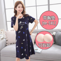 Nightdress Other / other M is suitable for 80-100 Jin, l is suitable for 100-120 Jin, XL is suitable for 120-140 Jin, XXL is suitable for 140-160 Jin, 3XL is suitable for 160-180 Jin, 4XL is suitable for 180-200 Jin, 5XL is suitable for 200-230 Jin, collection and purchase is preferred Sweet pajamas