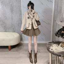 Fashion suit Spring 2021 XS,S,M,L Suit + skirt in stock YXJ2045 51% (inclusive) - 70% (inclusive) cotton