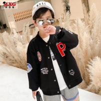 Plain coat Mizoguo male 110cm 120cm 130cm 140cm 150cm 160cm Black size is enough, don't be greedy spring and autumn leisure time Single breasted There are models in the real shooting routine nothing Cartoon animation blending other mwt21109 Class C Spring 2021