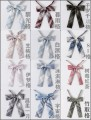 Bow tie lattice Ordinary dress leisure time Polyester Polyester Common type (7cm-12cm)