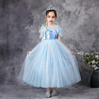 Dress Skirt, skirt + crown wand, skirt + crown wand wig, skirt + crown wand wig glove female Other / other 100cm,110cm,120cm,130cm,140cm,150cm Cotton 5% others 95% No season princess Short sleeve other other A-line skirt Class B Chinese Mainland Guangdong Province Guangzhou City