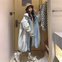 Cotton padded clothes Regular blue, thickened blue lamb S,M,L Winter 2020 Other / other have more cash than can be accounted for Long sleeves thickening Single breasted commute Hood routine Korean version Splicing 30% and below 18-24 years old