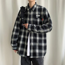 shirt Youth fashion Others M. L, XL, 2XL, 3XL, s small, 4XL, XS plus small, 5XL Red, black, blue routine square neck Long sleeves easy Other leisure spring teenagers Polyester 64% cotton 31% other 5% tide 2021 lattice Plaid No iron treatment cotton other Easy to wear 30% (inclusive) - 49% (inclusive)