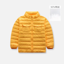 Down Jackets 110cm 120cm 130cm 140cm 150cm 90% White duck down male singbail Y0122 blue y0122 red y0122 navy blue y0122 tangerine yellow y0122 water lake green nylon have cash less than that is registered in the accounts nothing Zipper shirt Solid color Y0122 Polyamide fiber (nylon) 100% Winter 2017