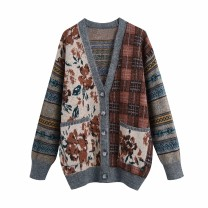 Wool knitwear Spring 2021 S,M,L As shown in the figure Long sleeves other 81% (inclusive) - 90% (inclusive) Medium length street 18-24 years old Europe and America