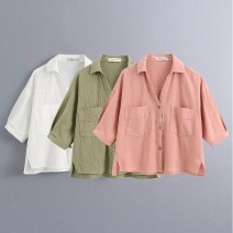 shirt As shown in Figure 1, as shown in Figure 2, as shown in Figure 3 XS,S,M,L Summer 2020 other 81% (inclusive) - 90% (inclusive) Short sleeve street 18-24 years old Europe and America
