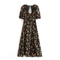 Dress Spring 2020 S,M,L Mid length dress street High waist 18-24 years old 81% (inclusive) - 90% (inclusive) Europe and America