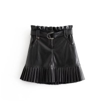 skirt Autumn of 2019 XS,S,M,L As shown in the figure Short skirt street High waist 18-24 years old 81% (inclusive) - 90% (inclusive) Europe and America