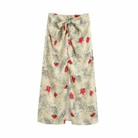 skirt Summer 2020 XS,S,M,L As shown in the figure Mid length dress street High waist 18-24 years old 71% (inclusive) - 80% (inclusive) Europe and America