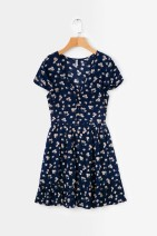 Dress Summer of 2019 As shown in the figure S,M,L Short skirt street V-neck High waist 18-24 years old 81% (inclusive) - 90% (inclusive) Europe and America